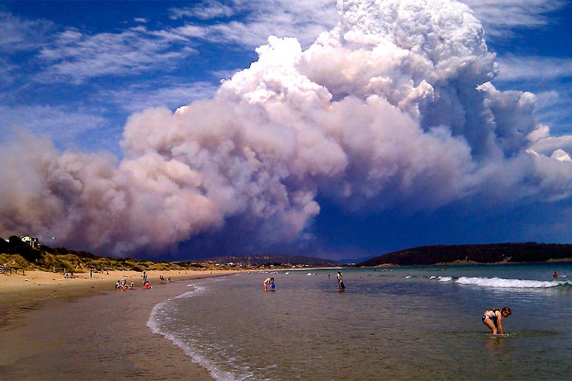 fires australia