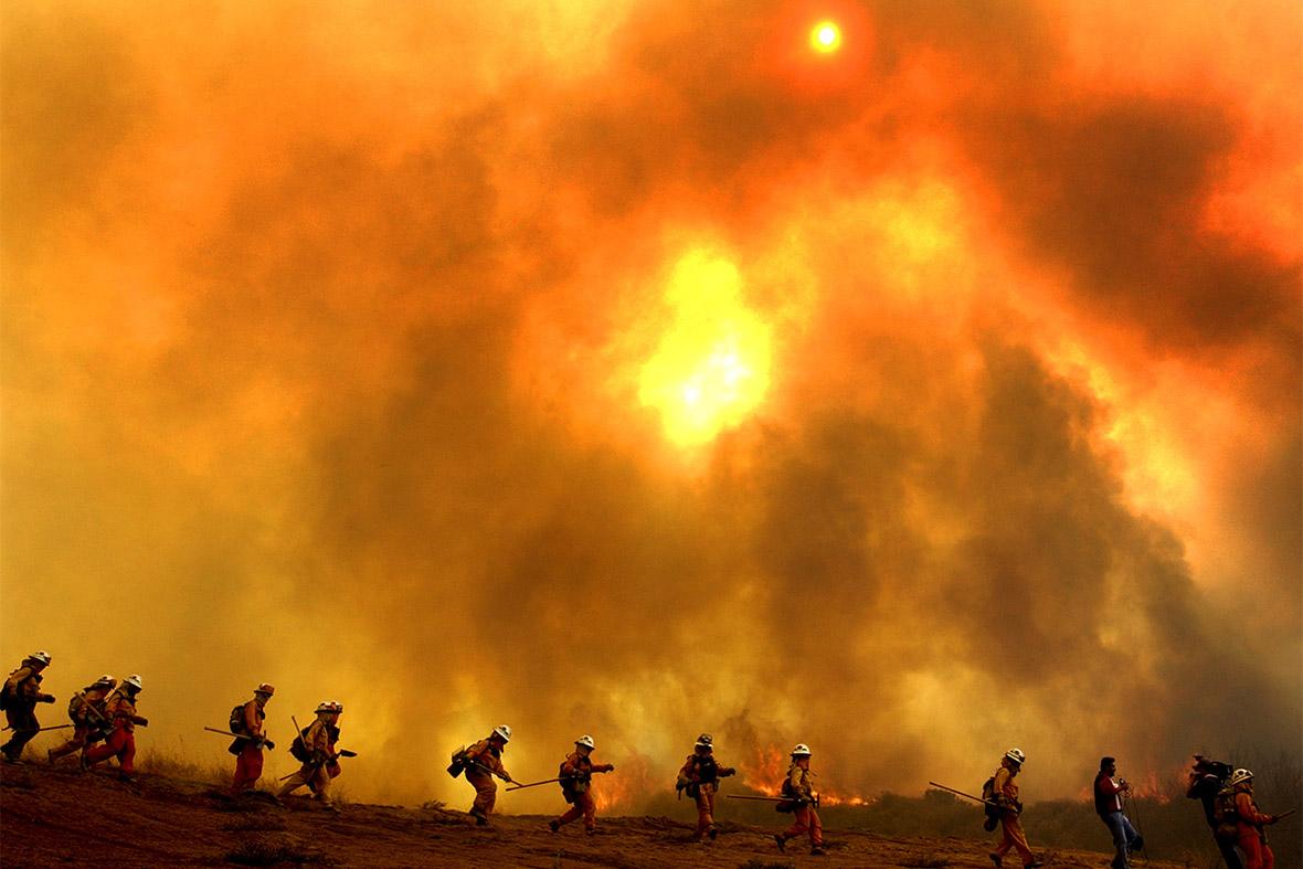 fire californai