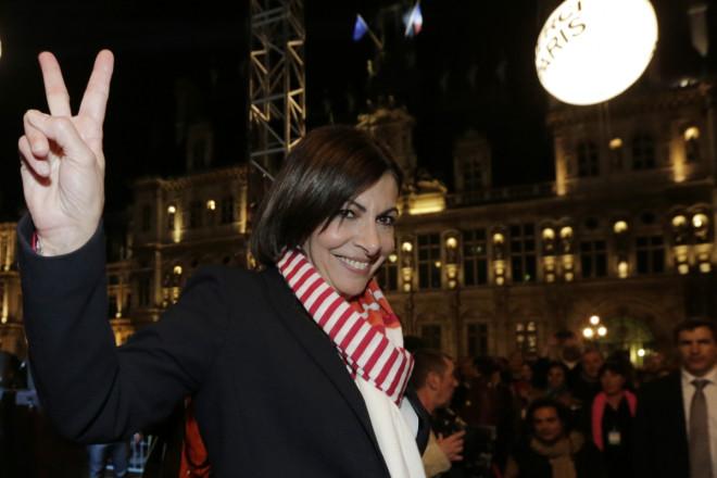 Anne Hidalgo Paris Mayor