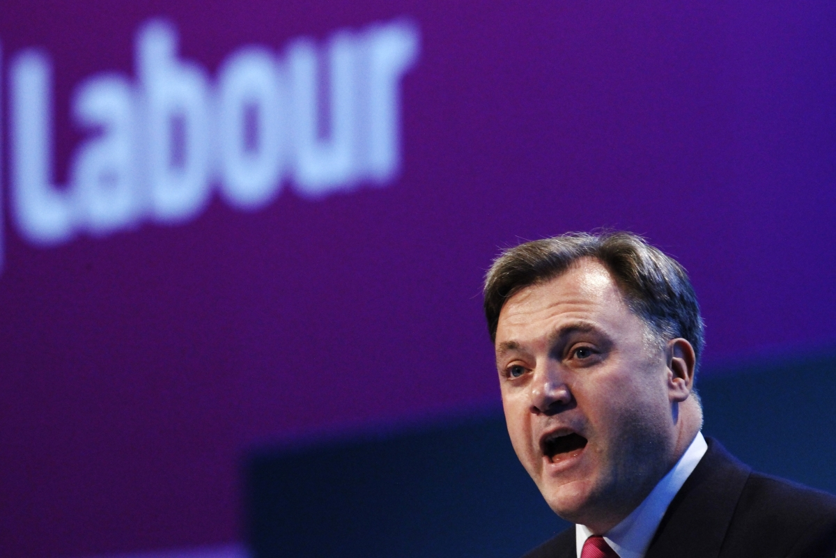 UK Wages Boost Skewed by Executive Pay Rises, says Labours' Balls