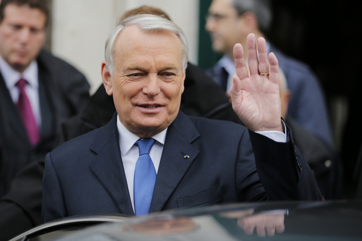 French Prime Minister Jean-Marc Ayrault resigned Valls Hollande