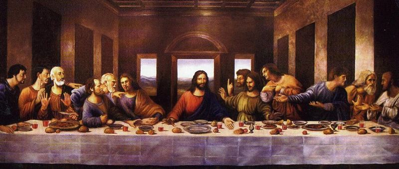 After Two Thousand Years - Has Holy Grail Been Found? Da Vinci Last Supper Original