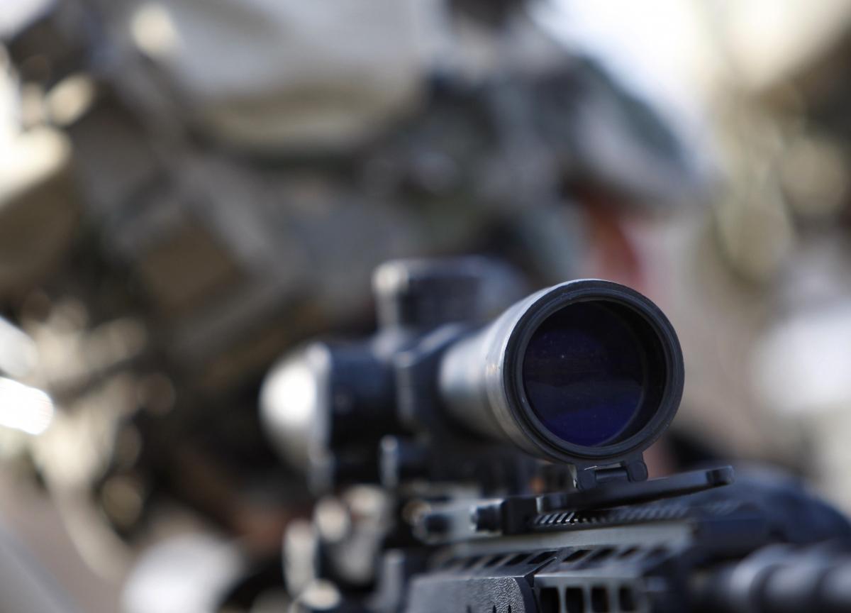 Sniper in Afghanistan