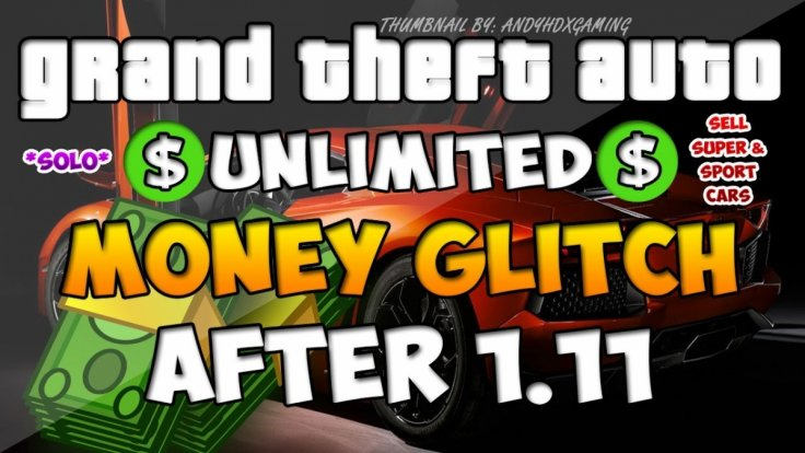 GTA 5: Unlimited Money via Invisible Car Duplication Glitch in 1 11