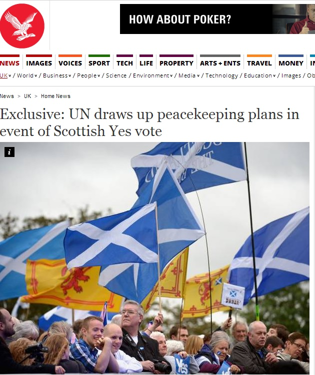 April Fool The Independent