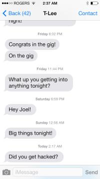 Deadmau5 iPhone Hacked