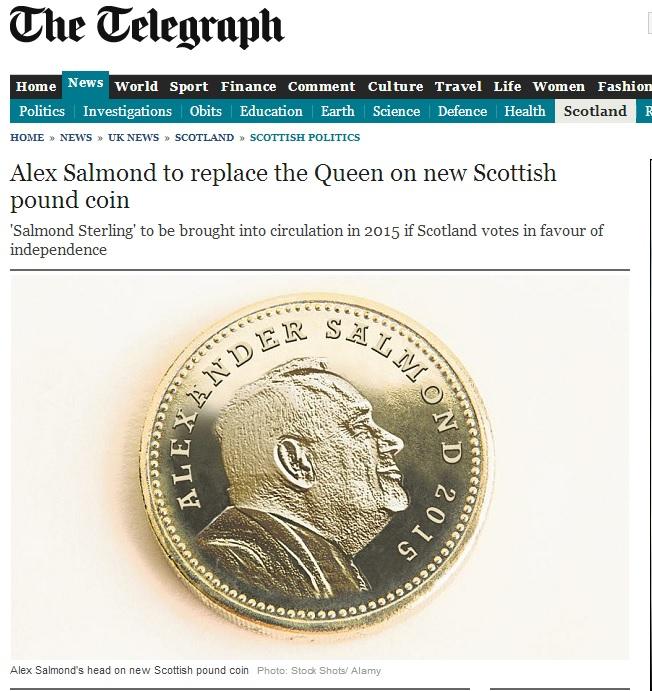 April Fool The Telegraph