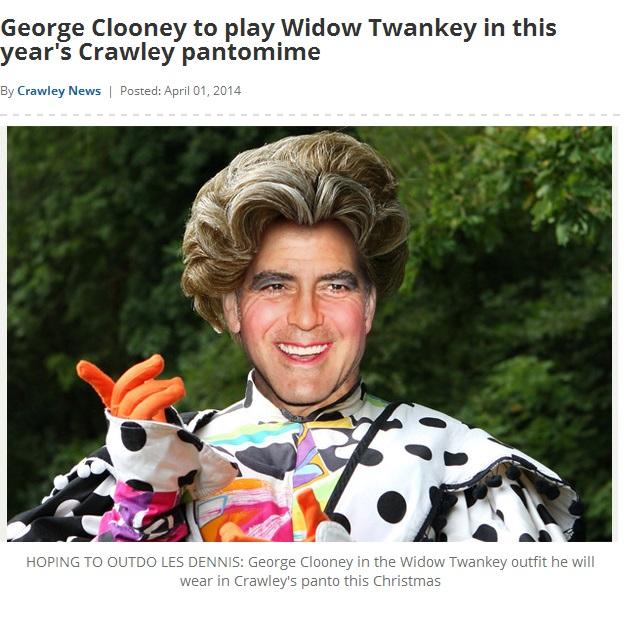 April Fool Crawley