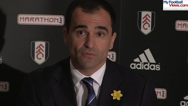 Roberto Martinez: Our Champions League Chance is Realistic
