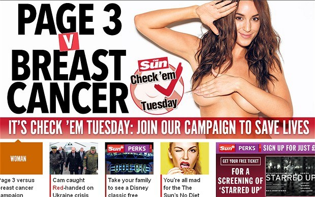 The Sun page 3