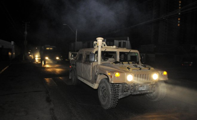 Chile earthquake and jail inmates escape