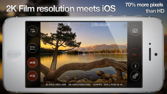 iPhone 5s Gets 2K Video Recording Capability with Ultrakam