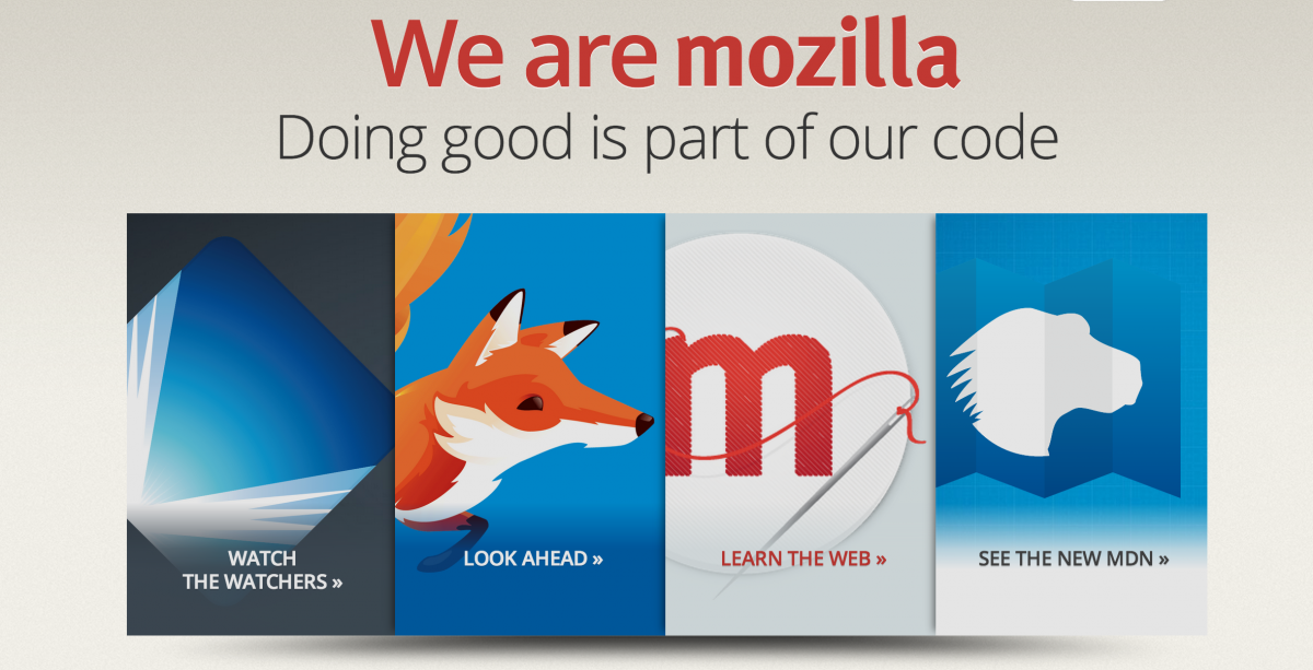 Mozilla Now Offering