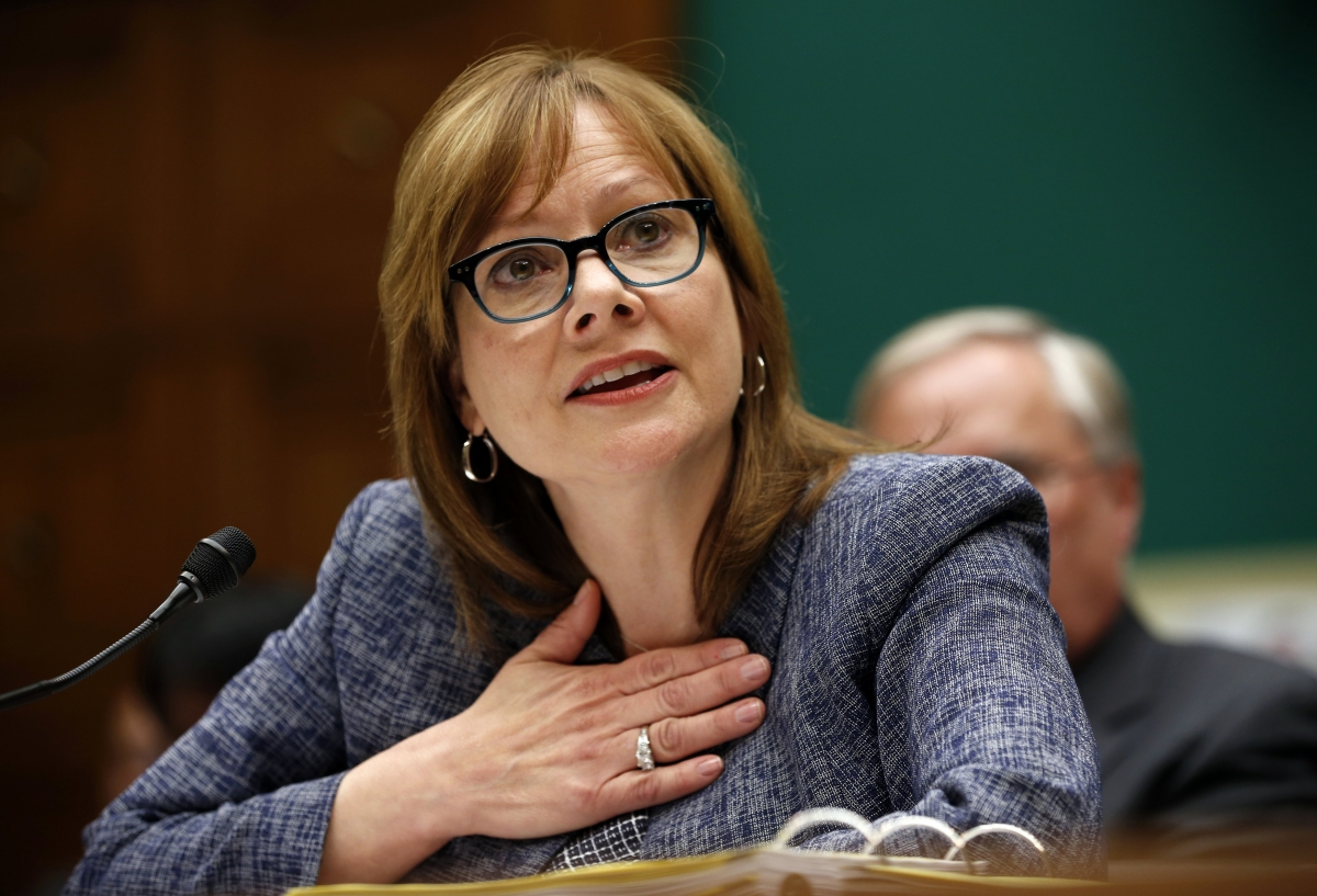 GM Chief Executive Officer Mary Barra