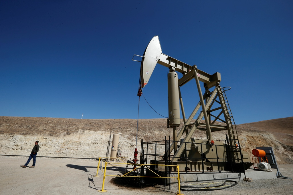 Oil Pumpjack California, US
