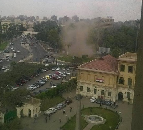 Explosion in Cairo