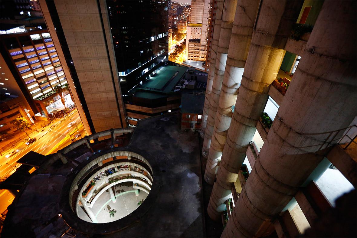 atrium night