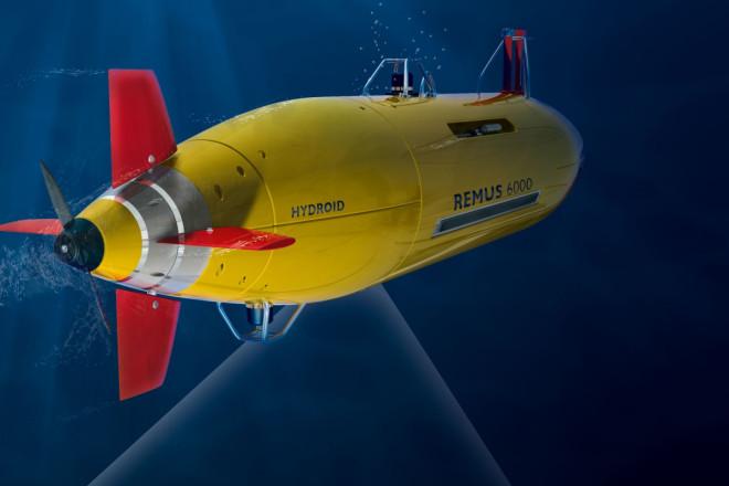 Remus 6000 Autonomous Underwater Vehicles (AUV) robot submarines