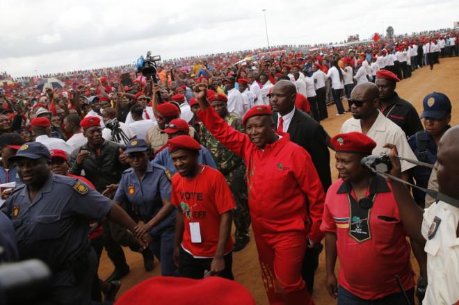 South Africa Zuma Malema Revolutionary