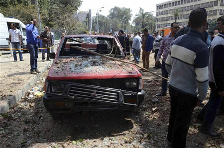 Egyptian Police Officer Killed in Triple Cairo Blasts