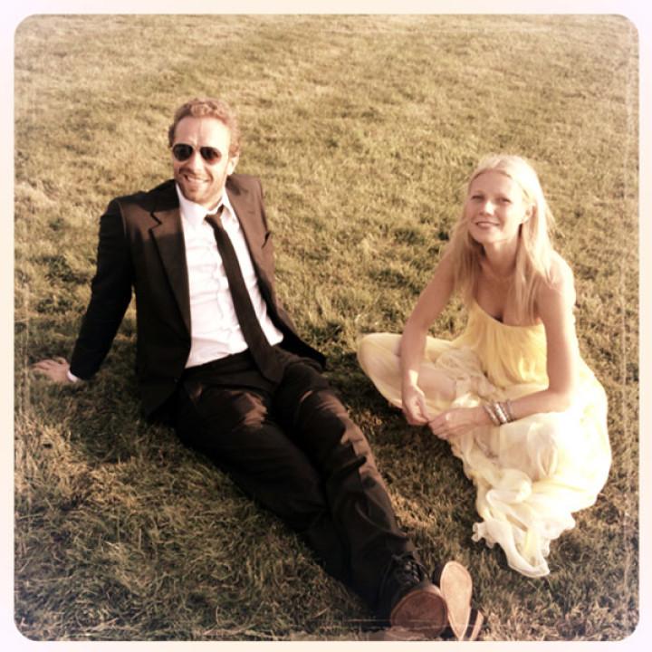 Gwyneth Paltrow and Chris Martin