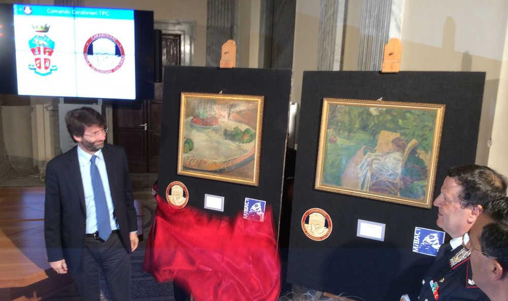 Italian Police Founds £25 Gauguin and Bonnard Paintings Stolen in 1970 London Heist
