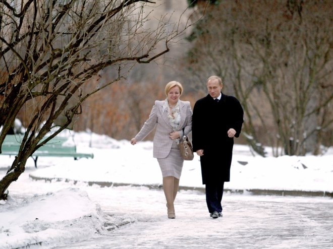 Putin Wife Divorce Kremlin