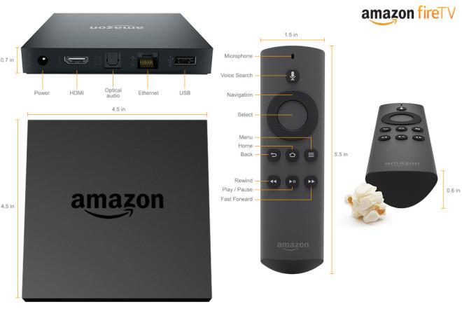 Amazon Fire TV Tech Specs