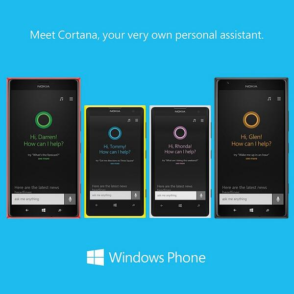 Windows Phone 8.1 Cortana