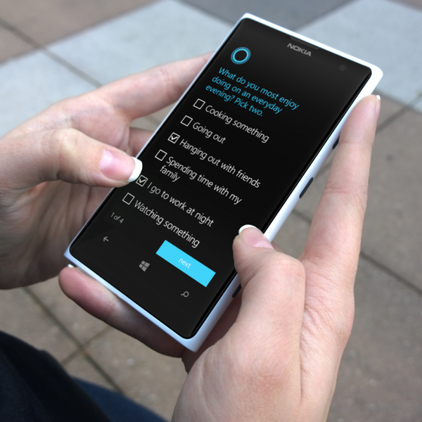 Windows Phone 8.1 with Cortana