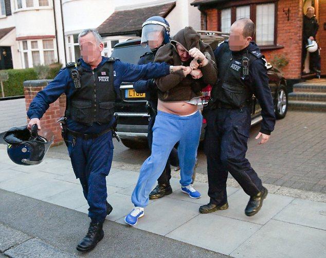 North London Adams family target of police raids