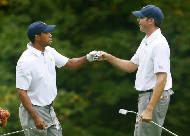 Tiger Woods and Matt Kuchar