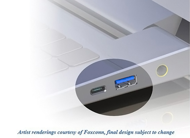 The new USB Type-C cable ports will be next to the old ports on PCs for a while