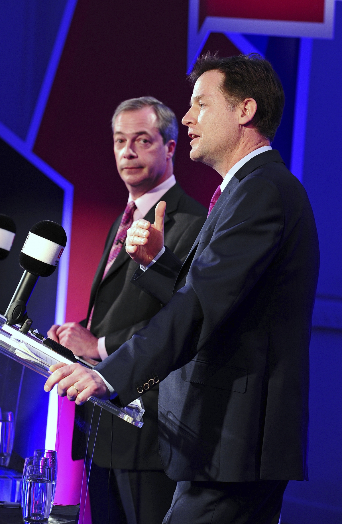 YouGov's snap poll delivered the debate to Farage by 68% to Clegg's 27%