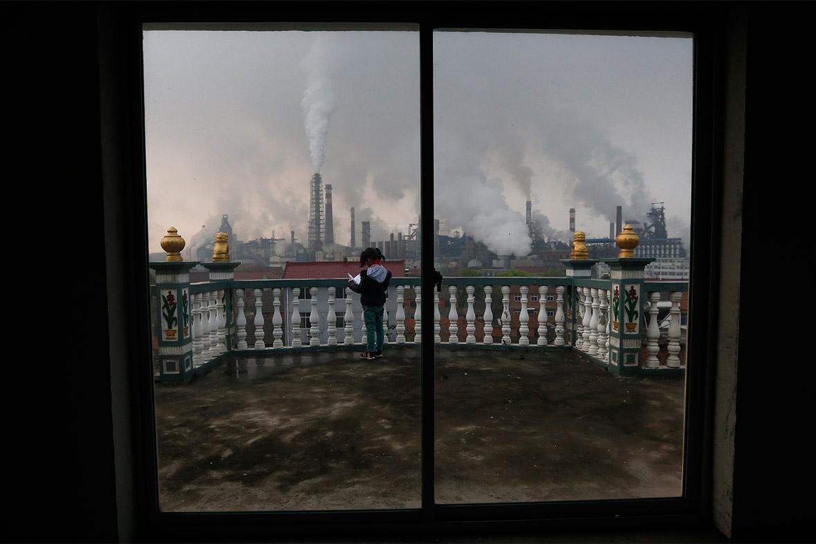pollutuion china