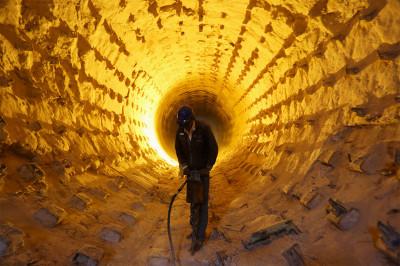 cement tunnel