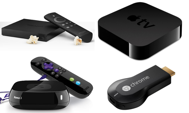 Amazon Fire TV vs. Chromecast vs. Apple TV vs. Roku: Which One to Buy?