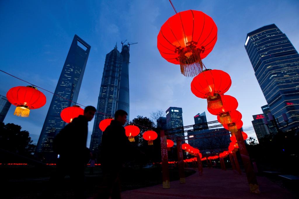 Chinese Lanterns Shanghai China
