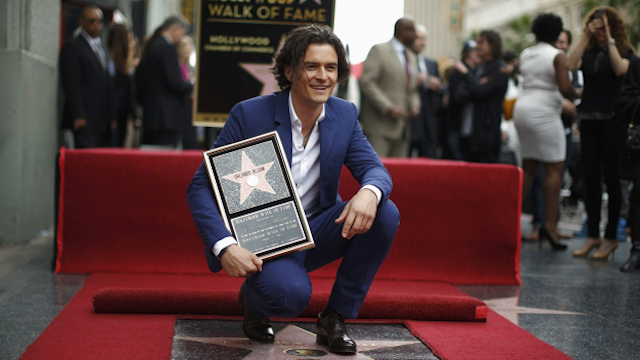 Orlando Bloom Unveils Hollywood Walk of Fame Star