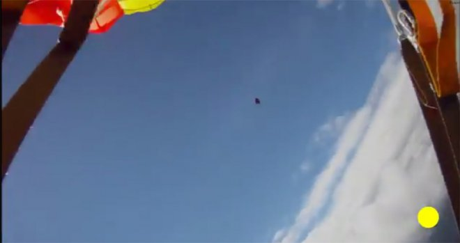 First ever video footage of a meteorite in mid-air