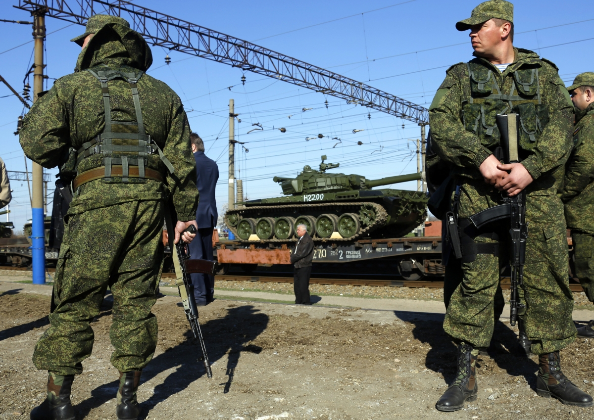 Russia Secret Service Arrest 25 Ukrainian Saboteurs' Ukraine border invade