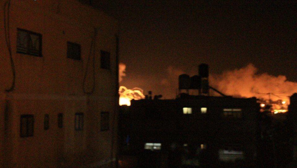 Israel Palestine Gaza Bomb