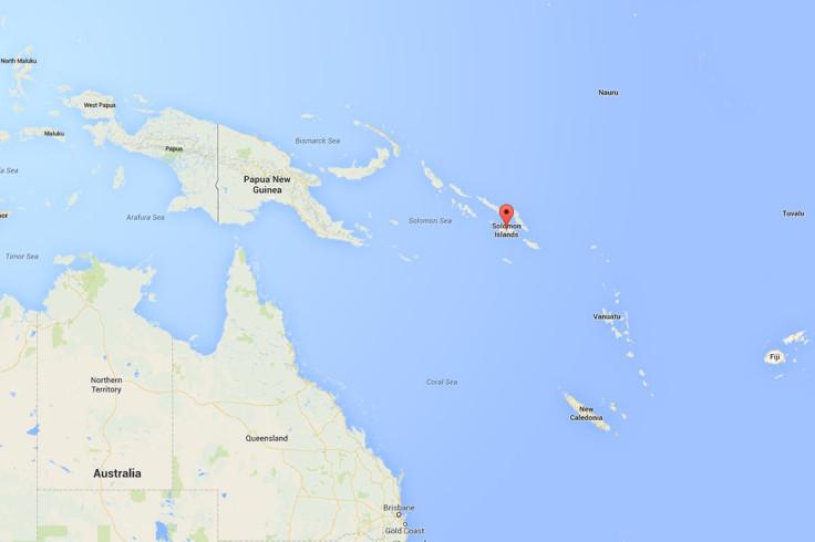 Solomon Islands map