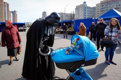 darth Vader pram