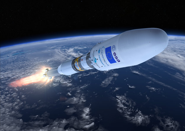 Europe's Copernicus Programme Launches First Satellite