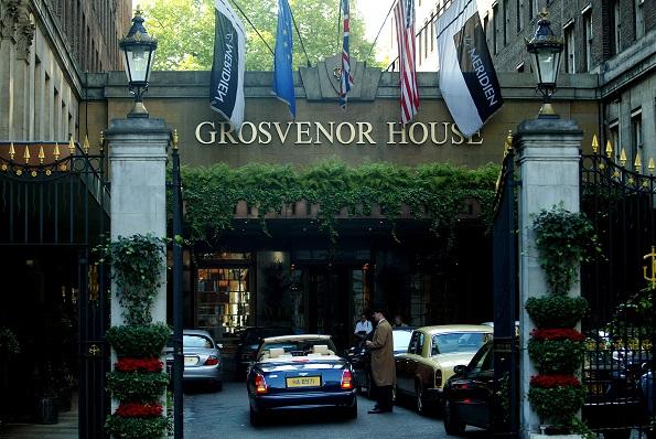 Grosvenor House Hotel London Postcode