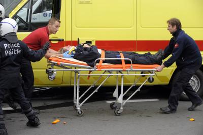 injured policewoman