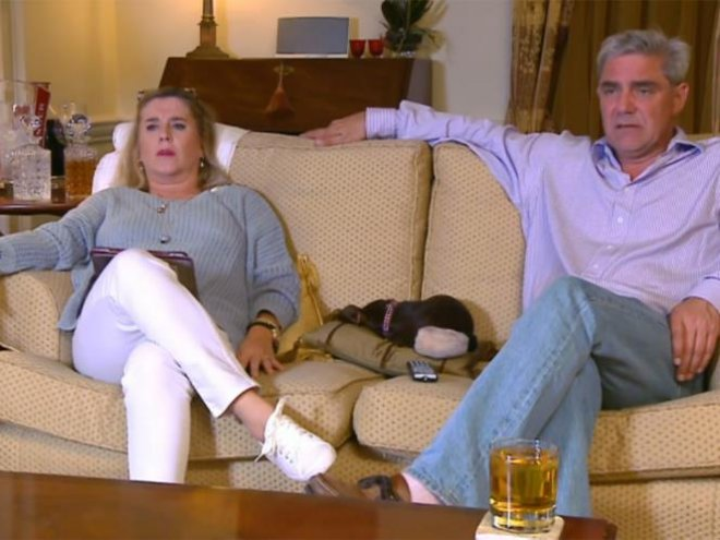 Husband and wife Steph and Dom Parker are popular on Gogglebox