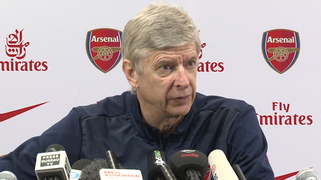 Wenger: Injuries Could Affect Our Creativity