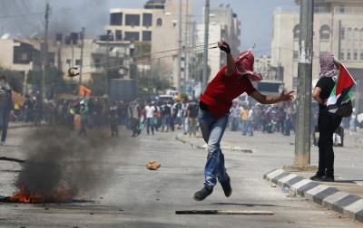 Palestinian Clashes IDF Ramallah